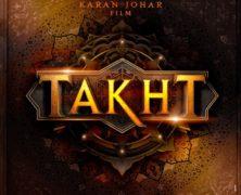 Takht – Karan Johar's next