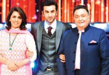 Rishi Kapoor Ranbir Kapoor and Neetu Kapoor