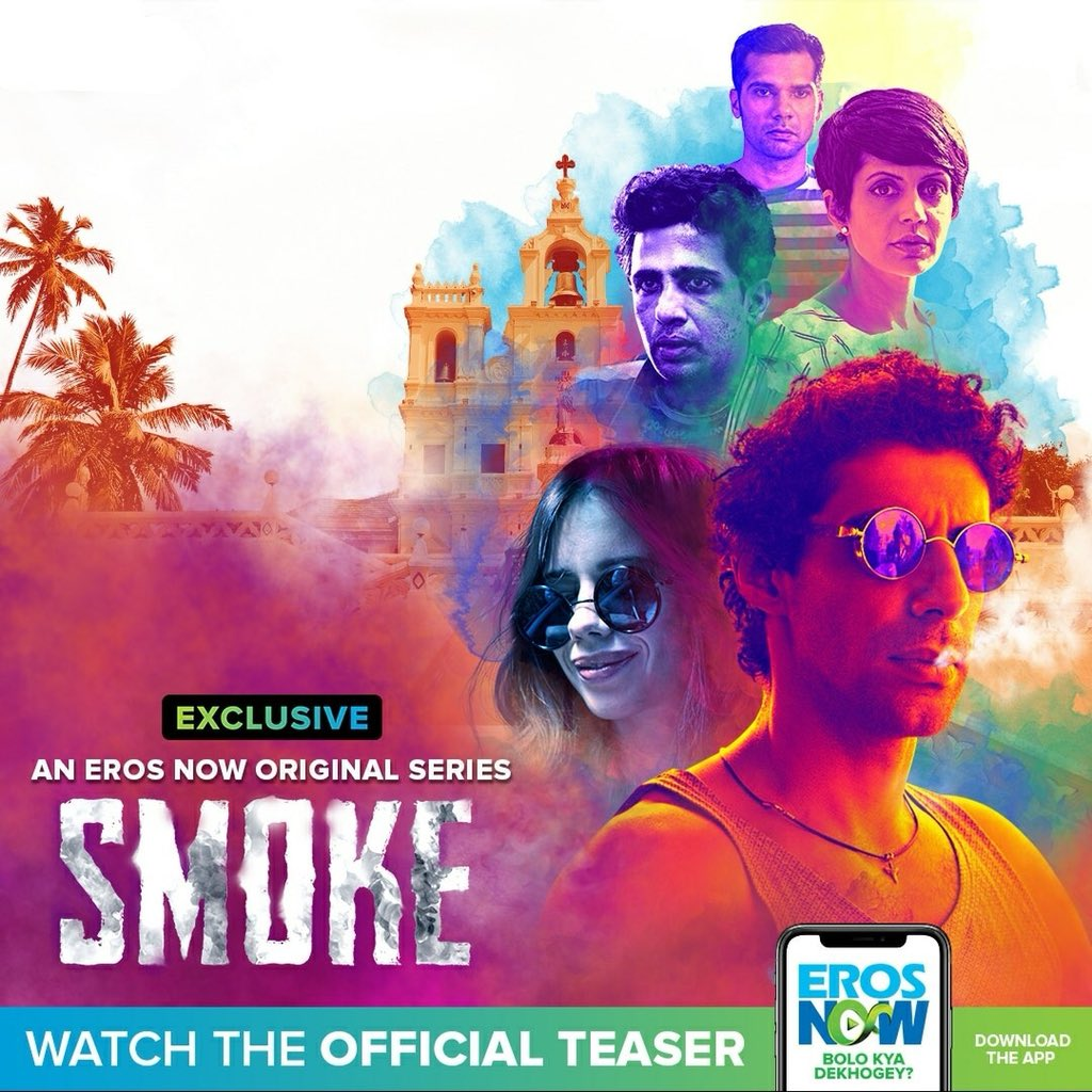Image result for smoke web series poster