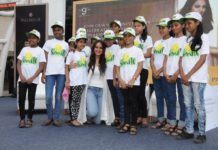 Sonakshi Sinha with kids from Smile Foundation